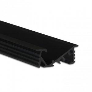 LED Möbel Profil Schwarz