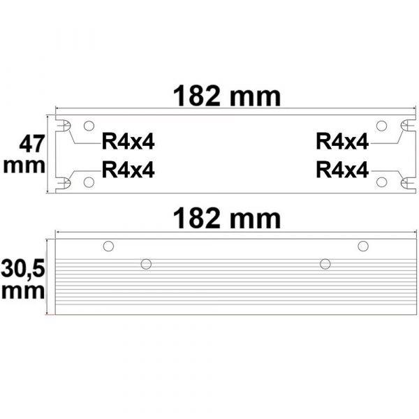 LED Gitter Trafo 24V 60W