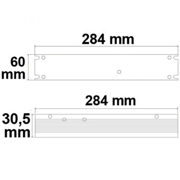 LED Gitter Trafo 24V 300W